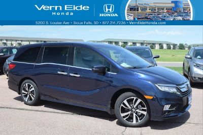 2018 Honda Odyssey Elite (Obsidian Blue Pearl)
