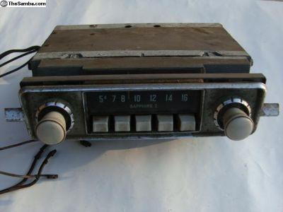Original Saphire 1 Radio