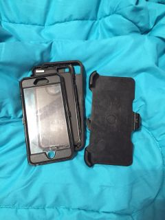 Otterbox for iPhone 6 or 6 plus with clip