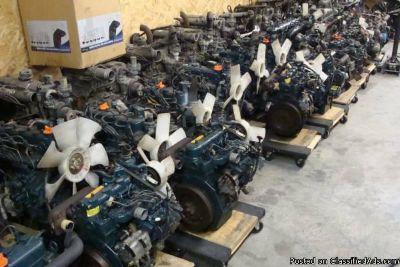 Kubota / Yanmar / Mitsubishi / Iseki Used Diesel Engines