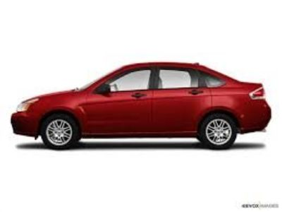 2010 Ford Focus SES (Red)