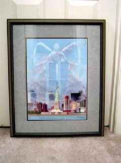 $99 911 9/11 Twin Towers framed print