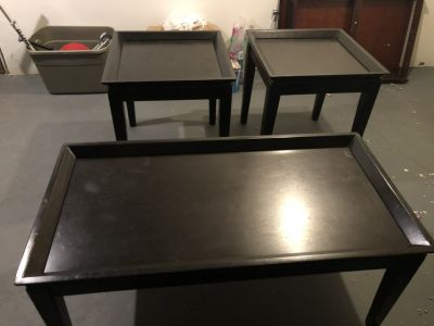 Coffee table/side tables