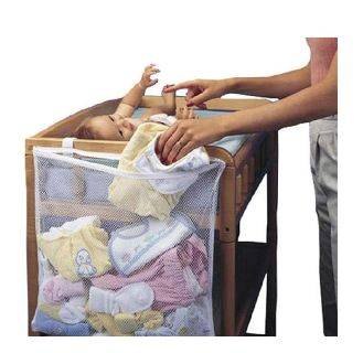 Changing table laundry bag