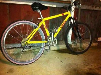 "$375 Trek 8000 16"" ZX aluminum 27 speed"