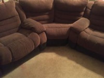 Reclining Sectional and center table