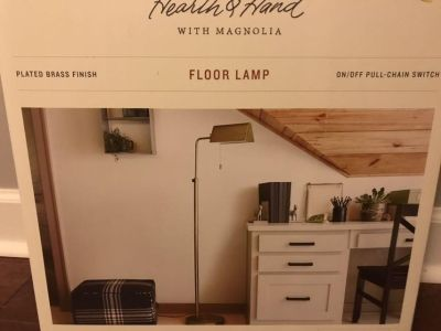 Magnolia Floor Lamp new in box- 2 available
