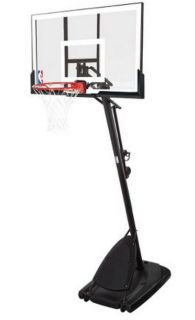 "NBA 54"" Acrylic Portable Basketball Hoop"