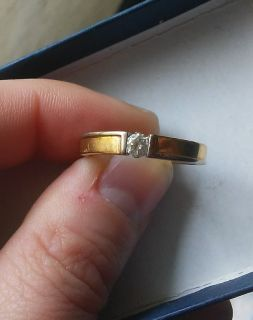 Engagement Ring, size 6.5