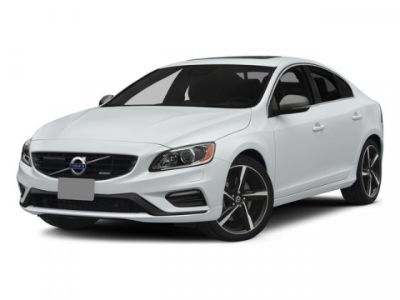 2015 Volvo S60 T6 R-Design Platinum (Crystal White Pearl)