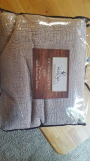 Brand new in bag cotton king bedding