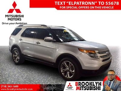 2015 Ford Explorer Limited (Ingot Silver Metallic)