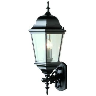 "Trans Globe Outdoor 29.5"" Wall Lantern, Black"