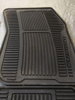 Branded Ford Fusion Winter Mats