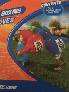 Giant Blow Up Boxing Gloves. New in box