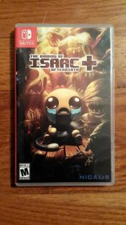The binding of isaac nintendo switch game