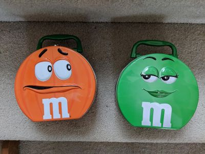Vintage Collectable M&M Lunchboxes