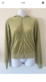 Juicy Couture Green Jacket Size Medium