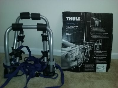 Thule 2 Bike Rack *** Never Used so Excellent Condition ***