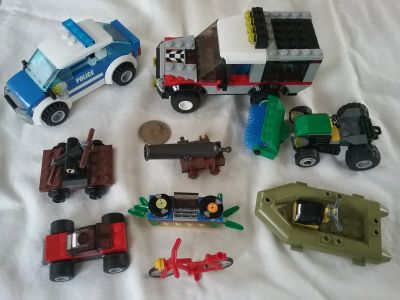 Lot of 9 Lego items