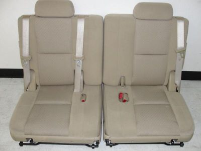 Buy 2009-2013 OEM_FACTORY_3RD ROW SEATS_SET_TAN_CLOTH_TAHOE_YUKON_SUBURBAN_CASHMERE motorcycle in Houston, Texas, US, for US $799.00