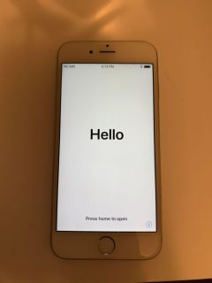 iPhone 6s. 64 GB. Silver. AT&T.