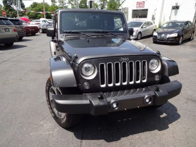 2017 Jeep Wrangler Unlimited Sahara 4x4 (Granite Crystal Metallic Clearcoat)