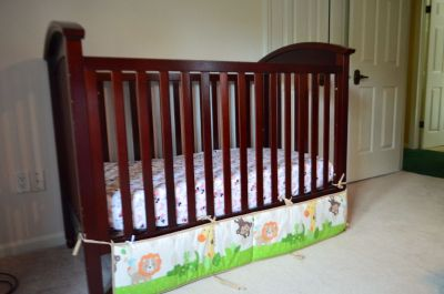 Babys Crib and Bedding