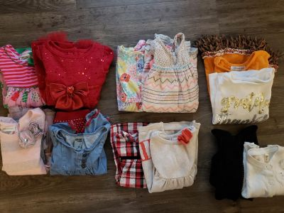 Toddler Girl Dresses and Outfits - 16 Pieces