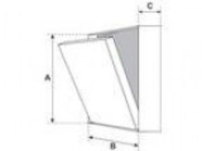 quot x quot Drywall Inlay Access Panel for Masonry applica