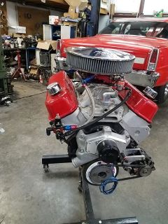 496 BBC Nitrous Engine