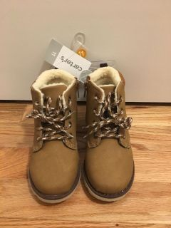 Carter s Sherpa Lined Boots. Brown. Size 11. Brand New with Tags. Originally $44!!