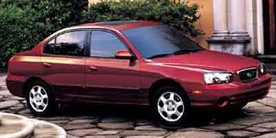 2002 Hyundai Elantra GLS (Silver)