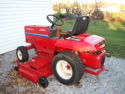 "GRAVELY 8179 KT PROFESSIONAL W/ 50"" MOWER DECK"