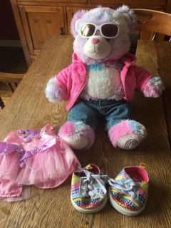 Build a bear shoes, clothing and bear ....