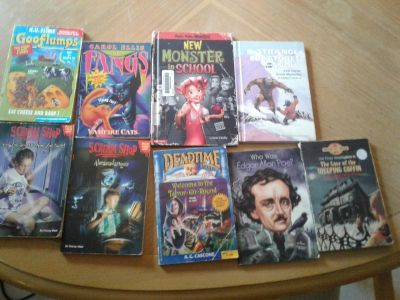 9 children's scary book lot