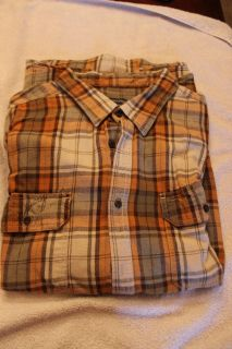 Faded Glory flannel 3x