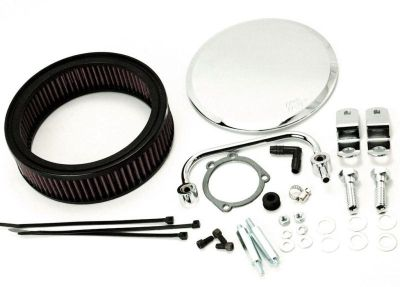 Sell K&N HARLEY DAVIDSON BIG TWIN 1340CC 1992-97 AIR FILTER KIT ROUND MIRROR motorcycle in Zieglerville, Pennsylvania, US, for US $199.86