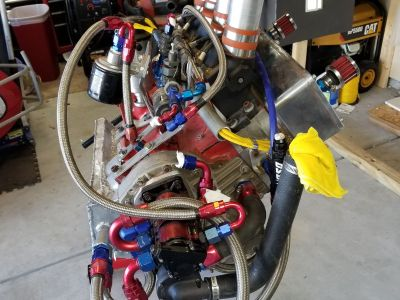 New Midget Engine 174 open