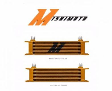 Buy Mishimoto Universal 10-Row Oil Cooler - GOLD motorcycle in Gallatin, Tennessee, United States, for US $105.00