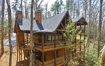 Lt 5 Antler Ridge Ellijay Three BR, Mtn escape This soaring