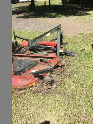 6 foot PTO finish mower