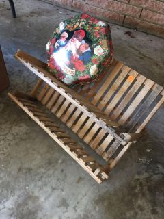 Wood dish rack..swap only..no holds