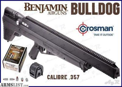 For Sale: Benjamin Bulldog .357 Bullpup Air Rifle Kit