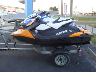 2015 Sea-Doo Spark 2up Rotax 900 ACE PWC 2 Seater Holiday, FL