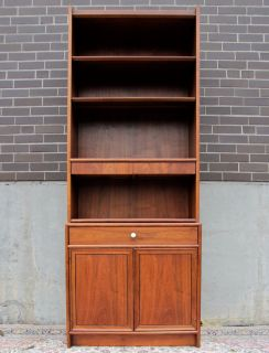 Kipp Stewart for Drexel Cabinet Hutch Bookcase