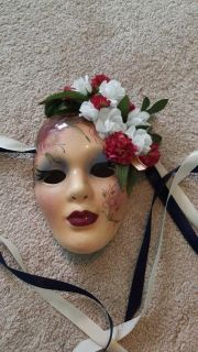 1987 hand painted mask