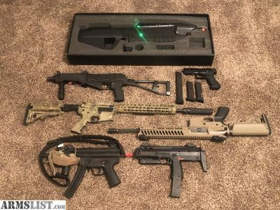 For Sale: Airsoft Collection