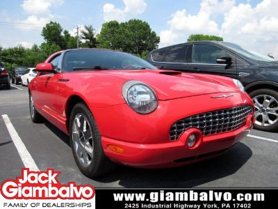 2002 Ford Thunderbird Deluxe (Torch Red)