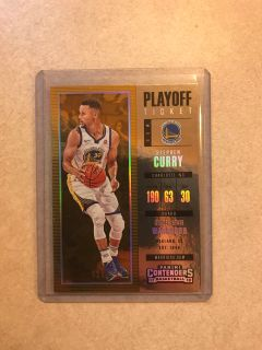 Steph Curry basketball card numbered to /249